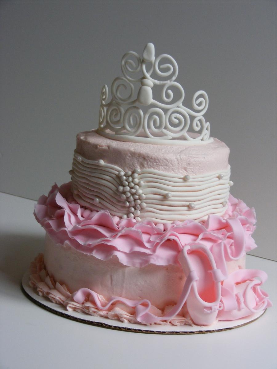 Tutu Princess Cake Cakecentral Com