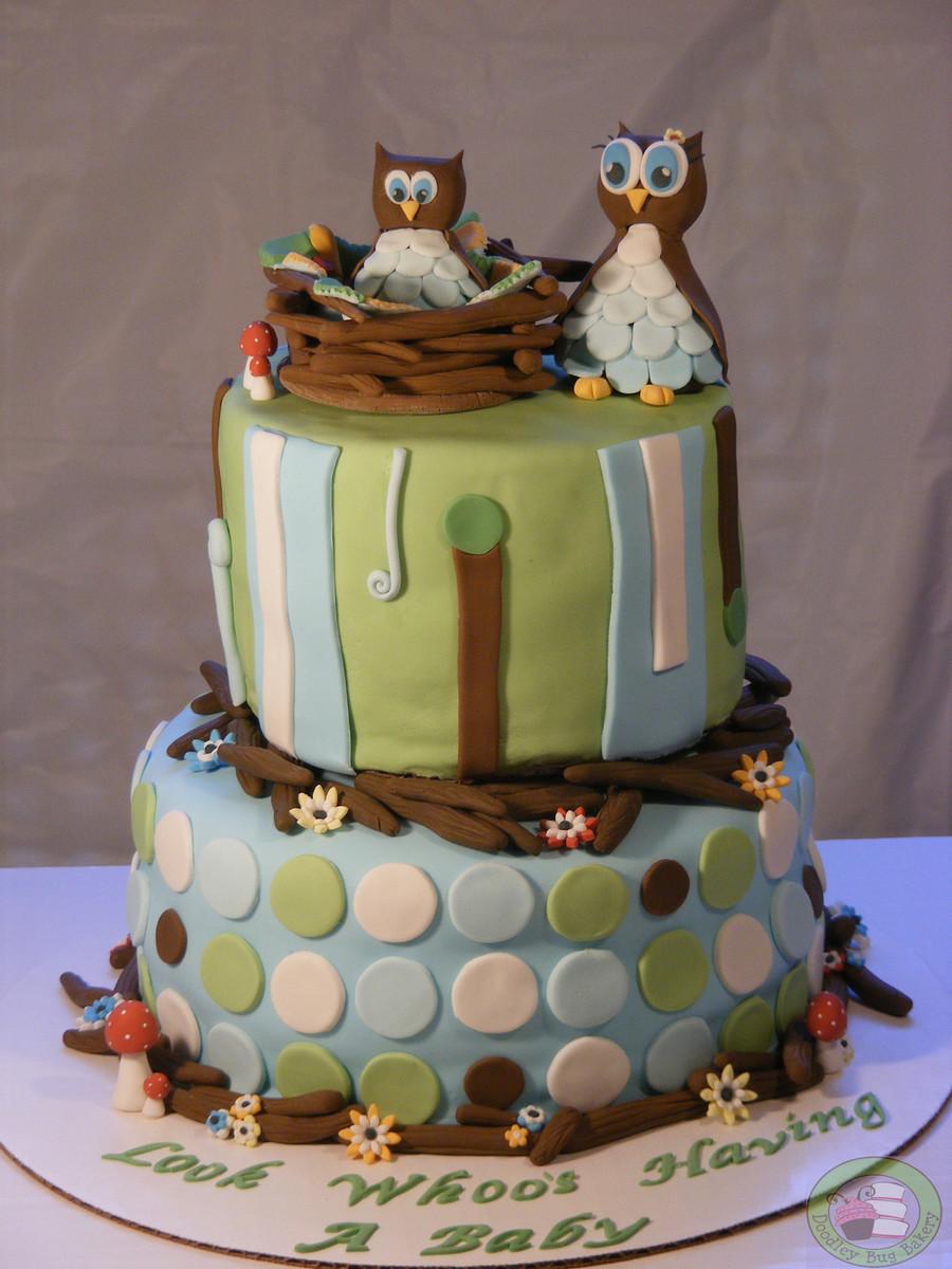 Owl Cake Decorating Ideas