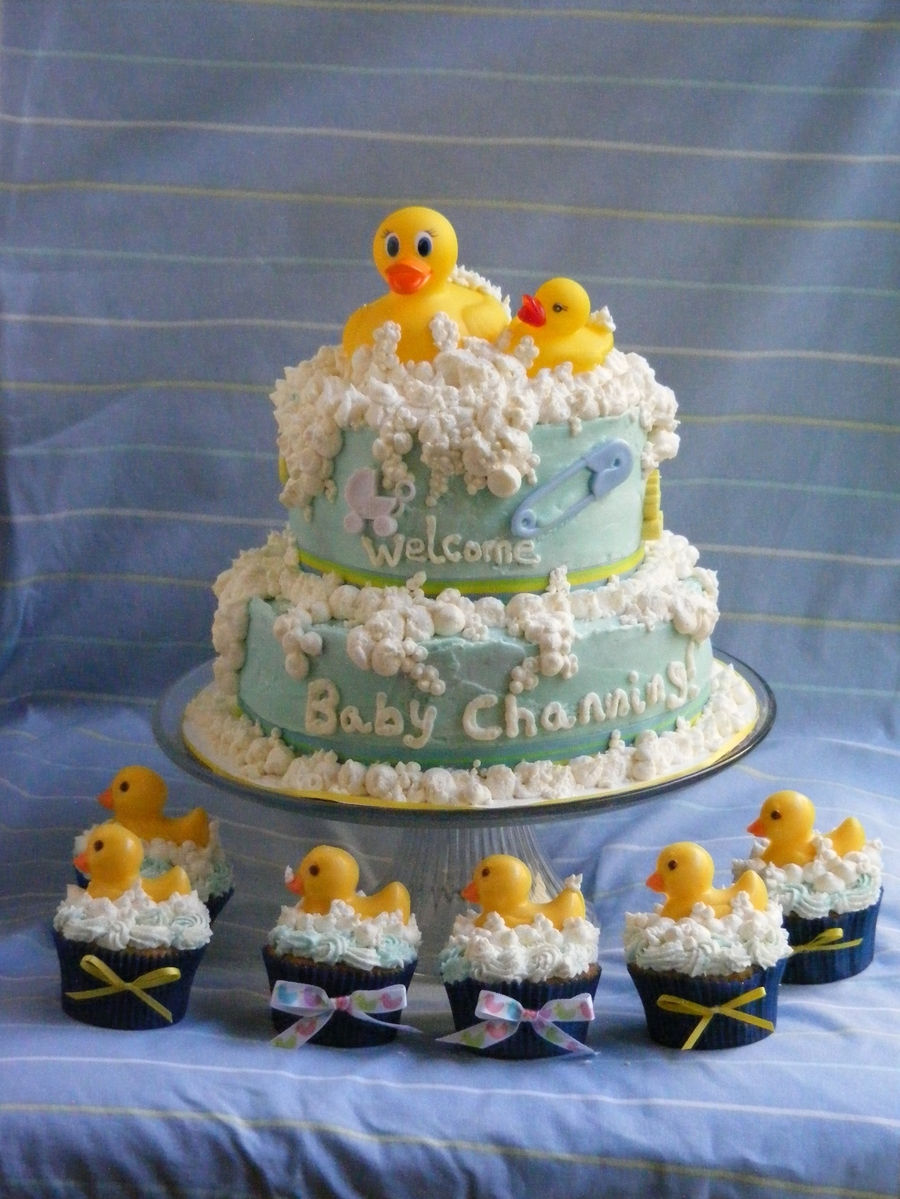 Duck Baby Shower on Cake Central