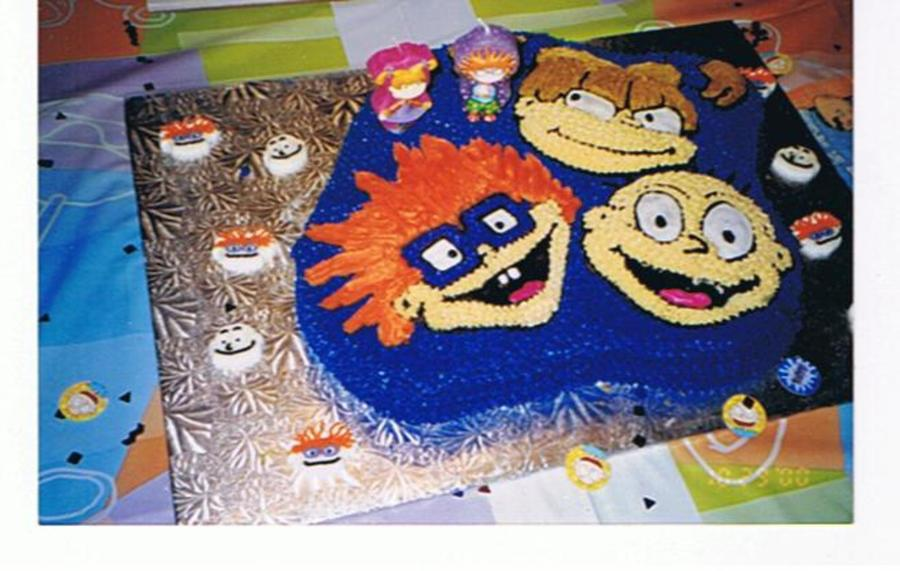 Rugrats Birthday Cake on Cake Central
