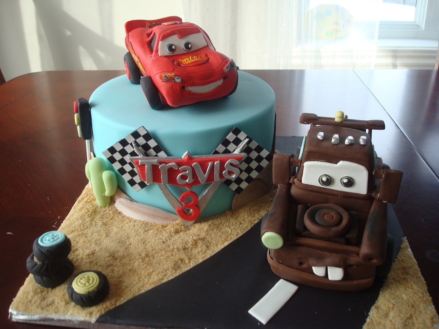 Flash And Mater In Rk on Cake Central