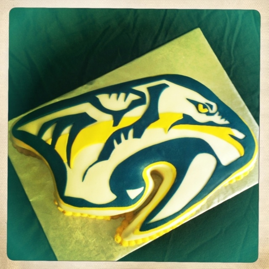 Nashville Predators Cake on Cake Central