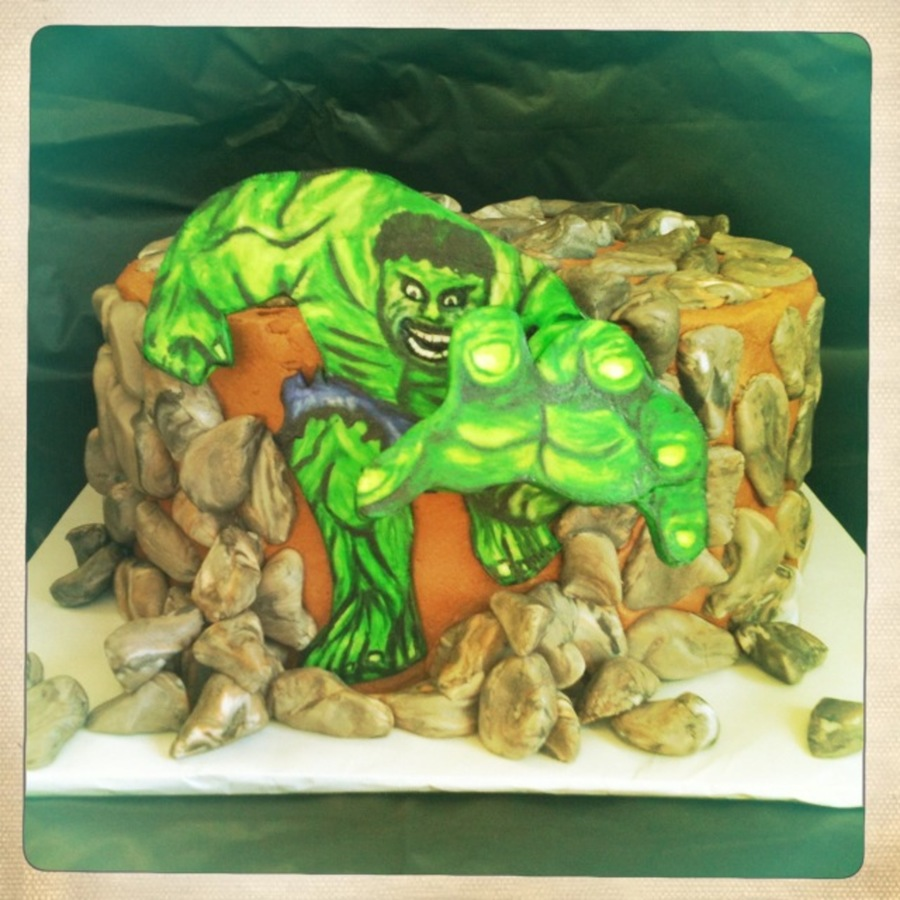 The Incredible Hulk on Cake Central