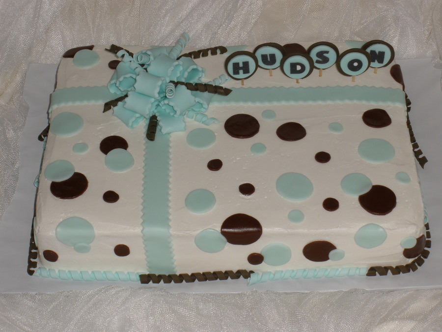 Polka Dot Baby Shower on Cake Central