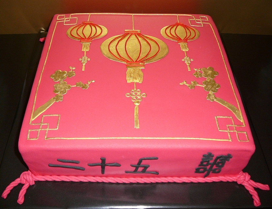 Chinese Lamps on Cake Central