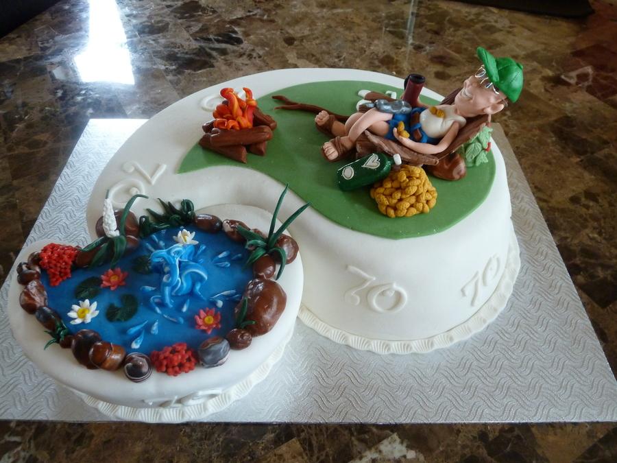 Favorites Fire Peanut Pond Birthday Cakes
