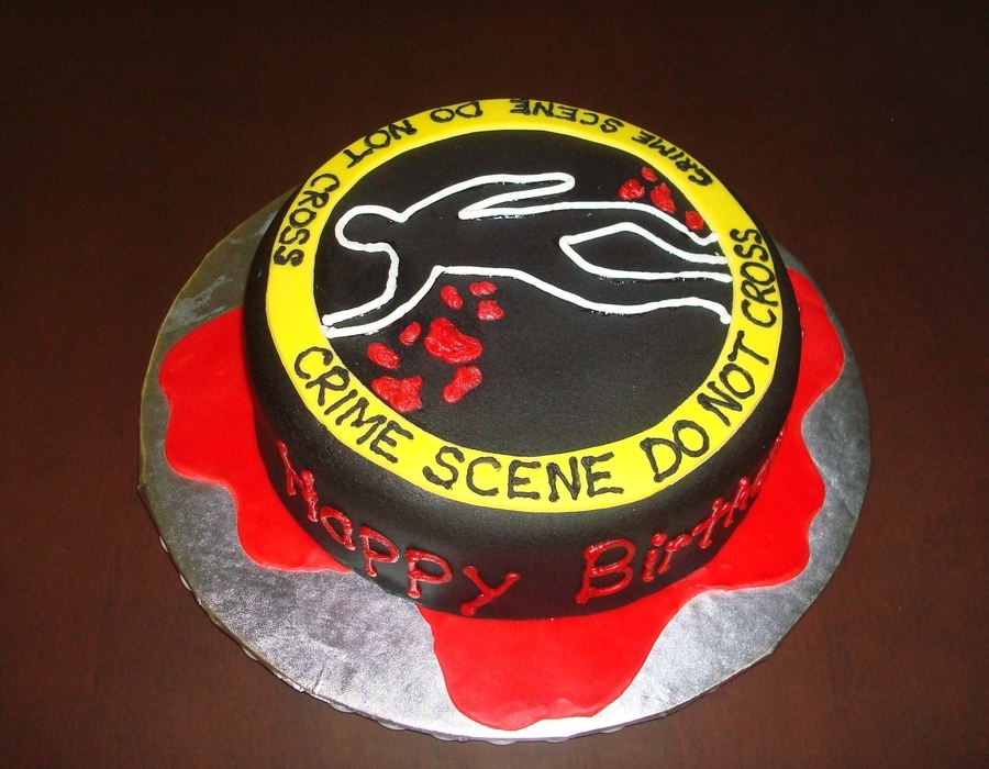 Ciu Crime Scene Cake on Cake Central