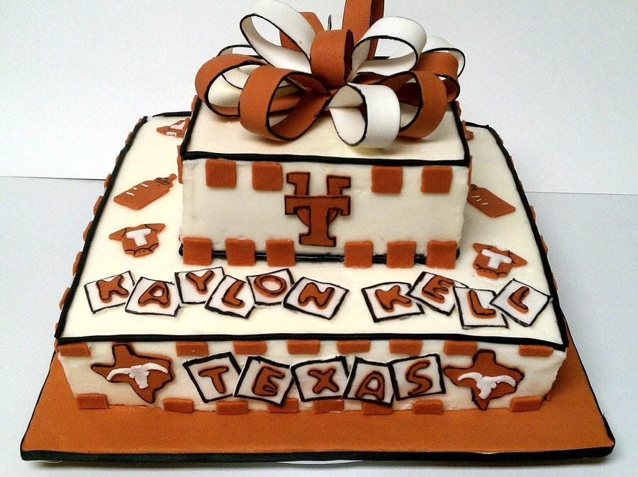 Longhorn Baby on Cake Central
