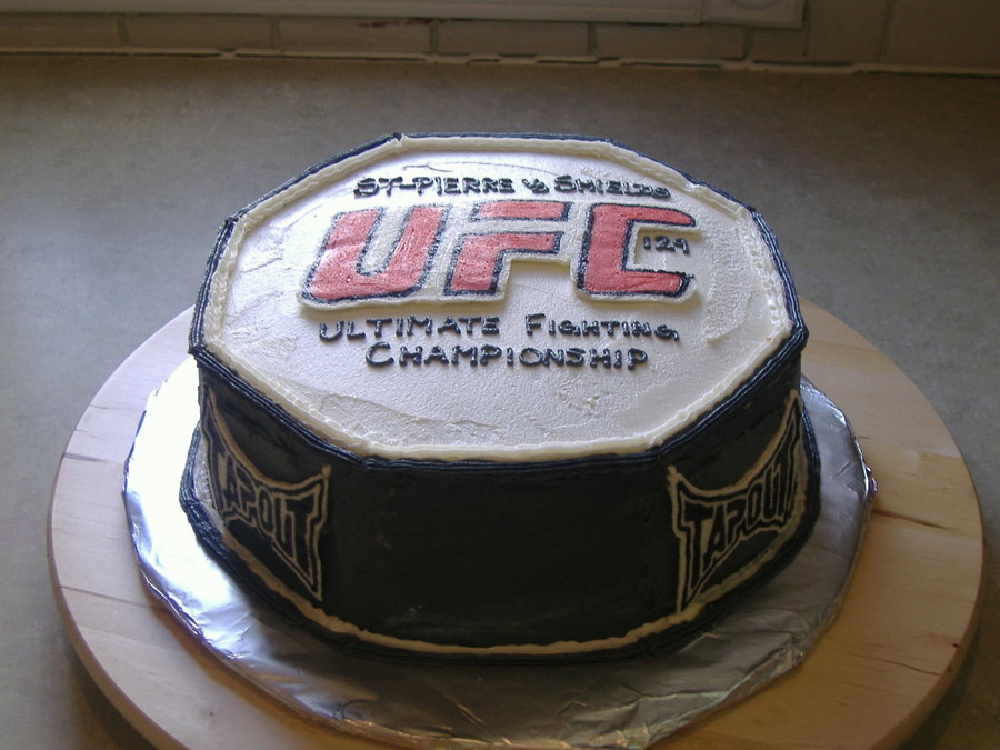 Ufc 129 on Cake Central