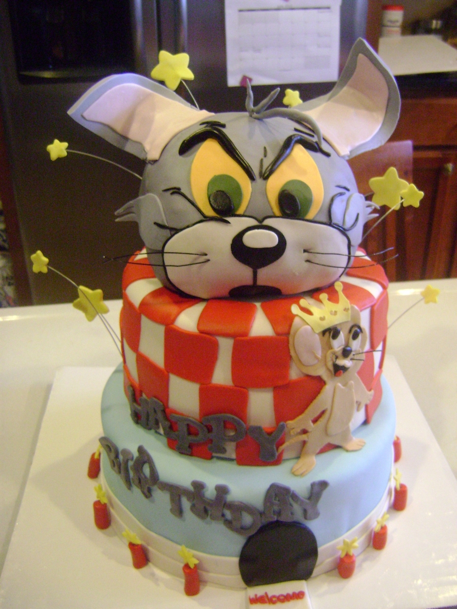 Tom & Jerry on Cake Central