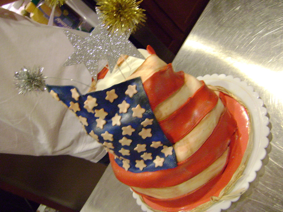 Happy Birthday America! on Cake Central