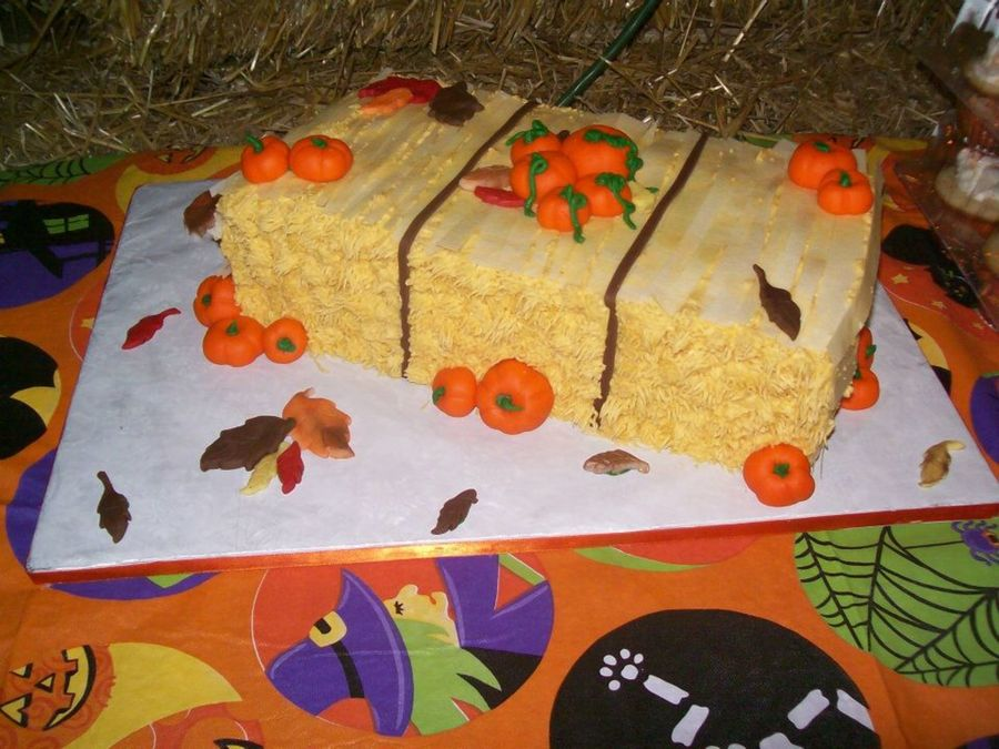 Pumkin Patch Birthday Cake on Cake Central