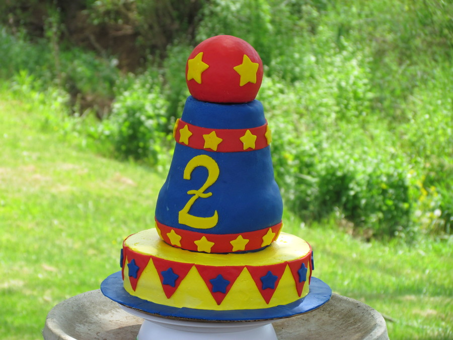 Circus Cannon  on Cake Central