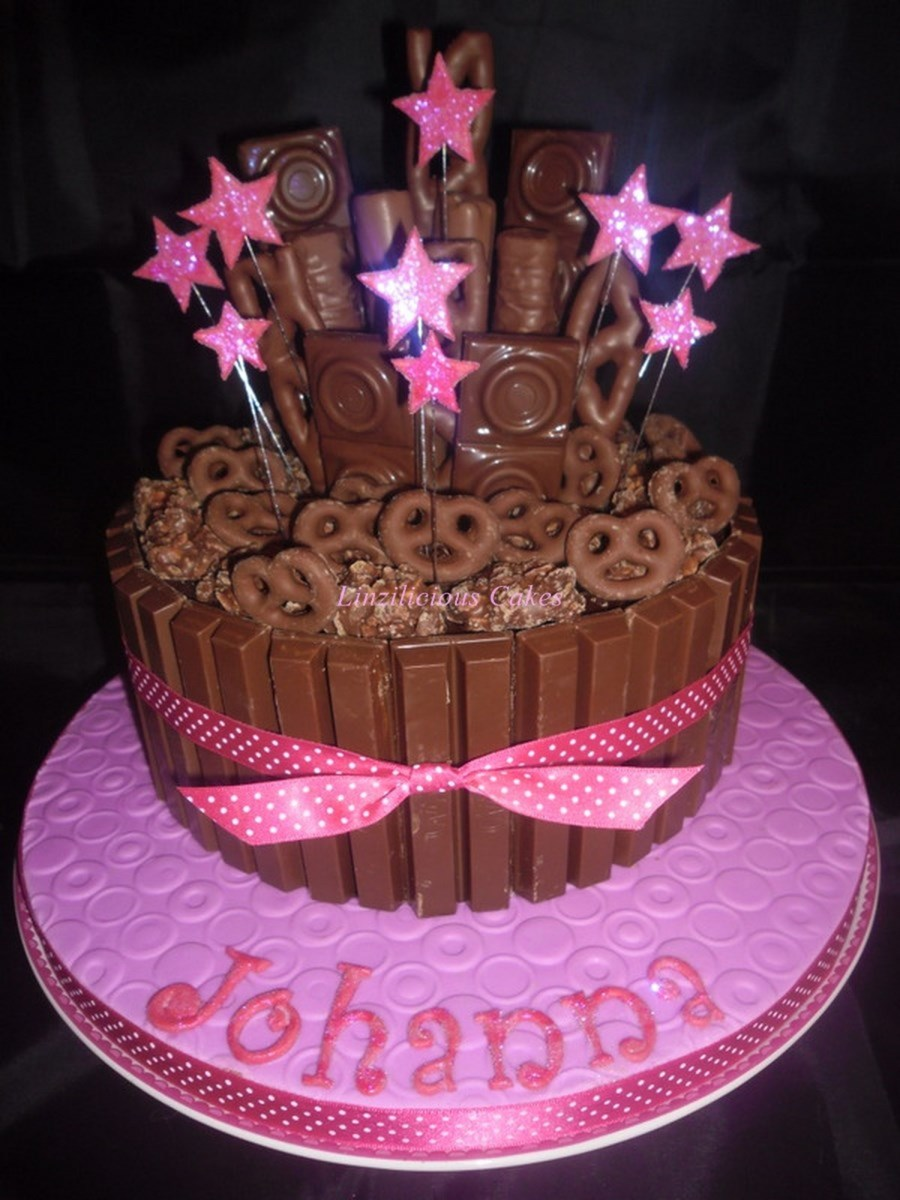 Girly Chocolate Explosion Cakecentralcom