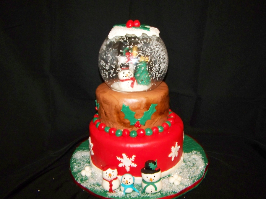 Snow Globe on Cake Central
