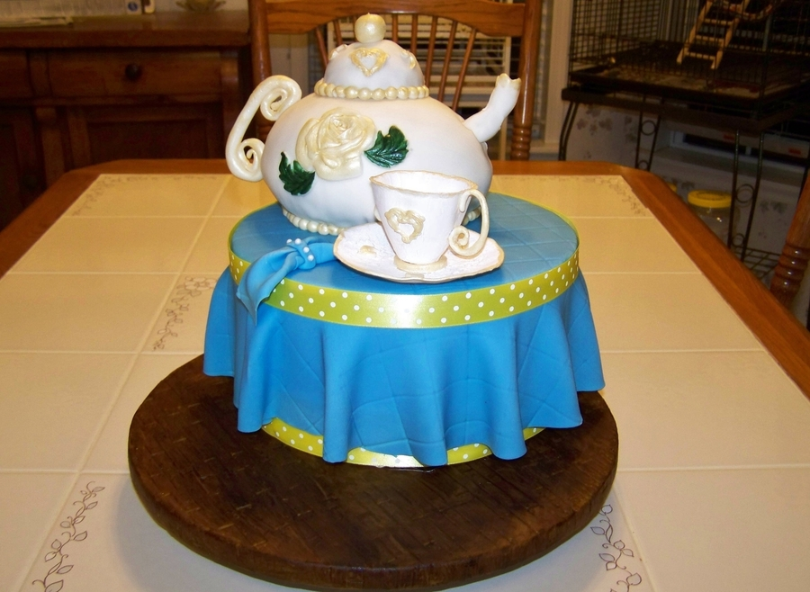Teapot on Cake Central