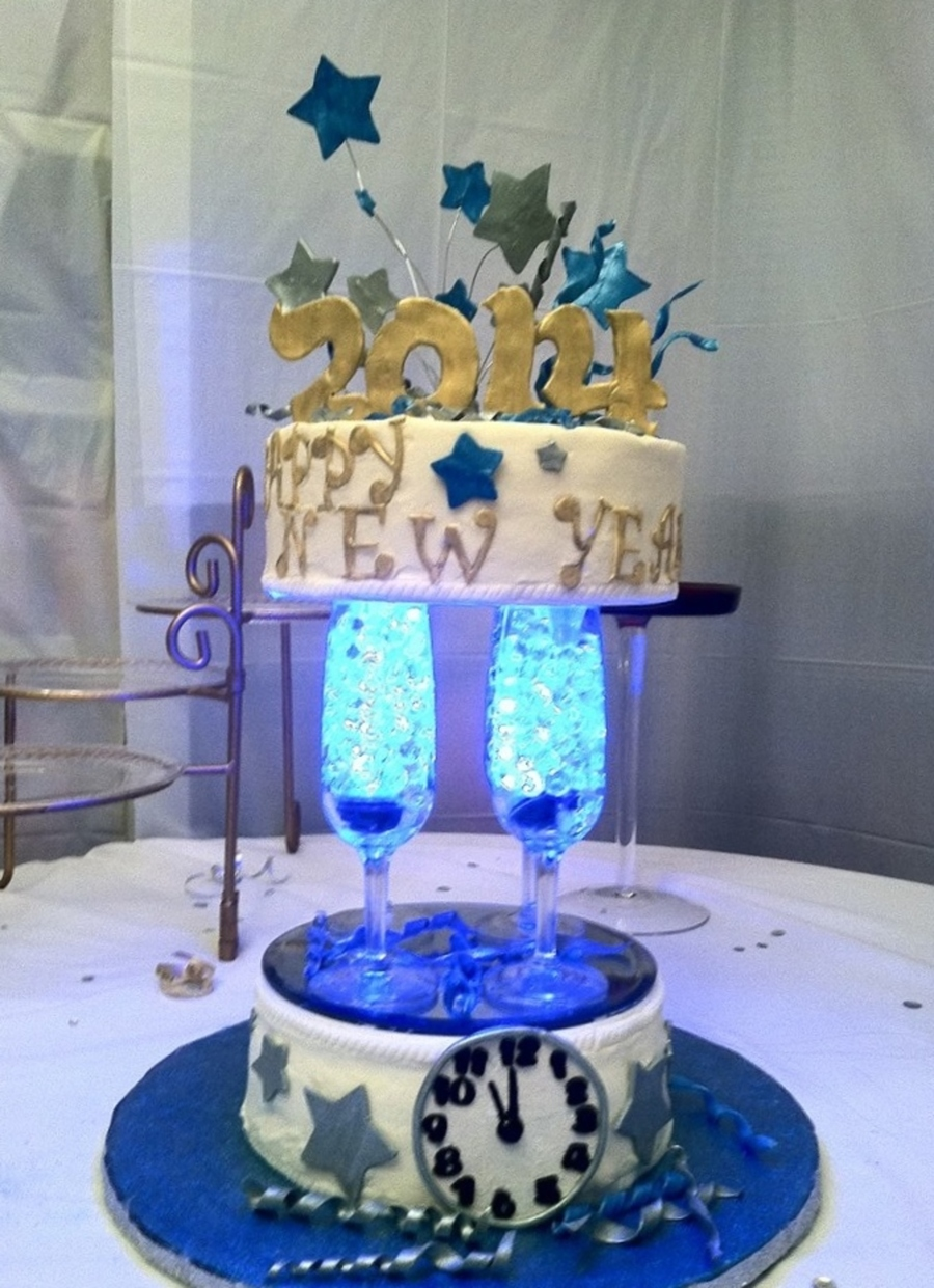 New Years Eve Party Cake Inspired By Many In The Gallery ...