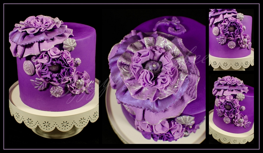 Purple Passion! on Cake Central