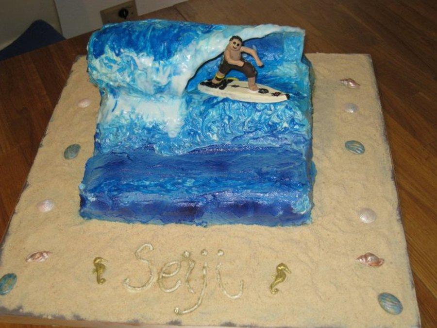 Cake Decorating Making Waves : Wave Cake - CakeCentral.com
