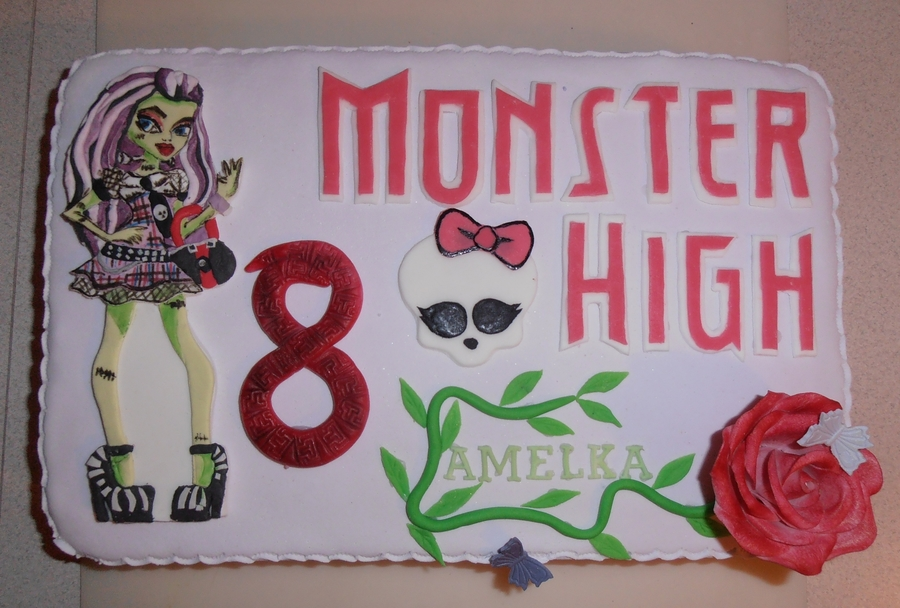 Monster High Dla Amelki on Cake Central