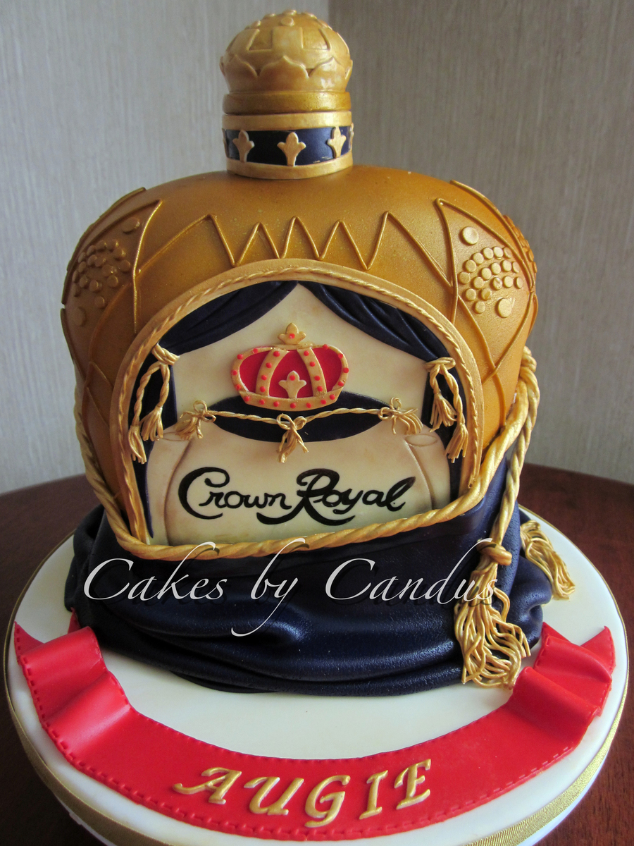 Crown Royal Cake Cakecentral Com