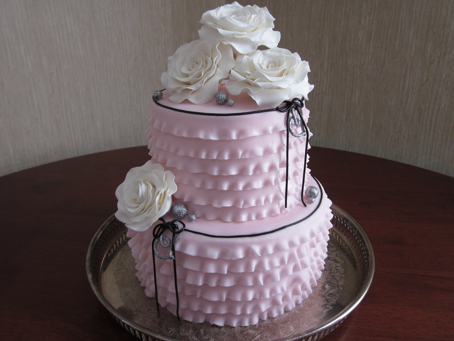 Frills And Roses on Cake Central