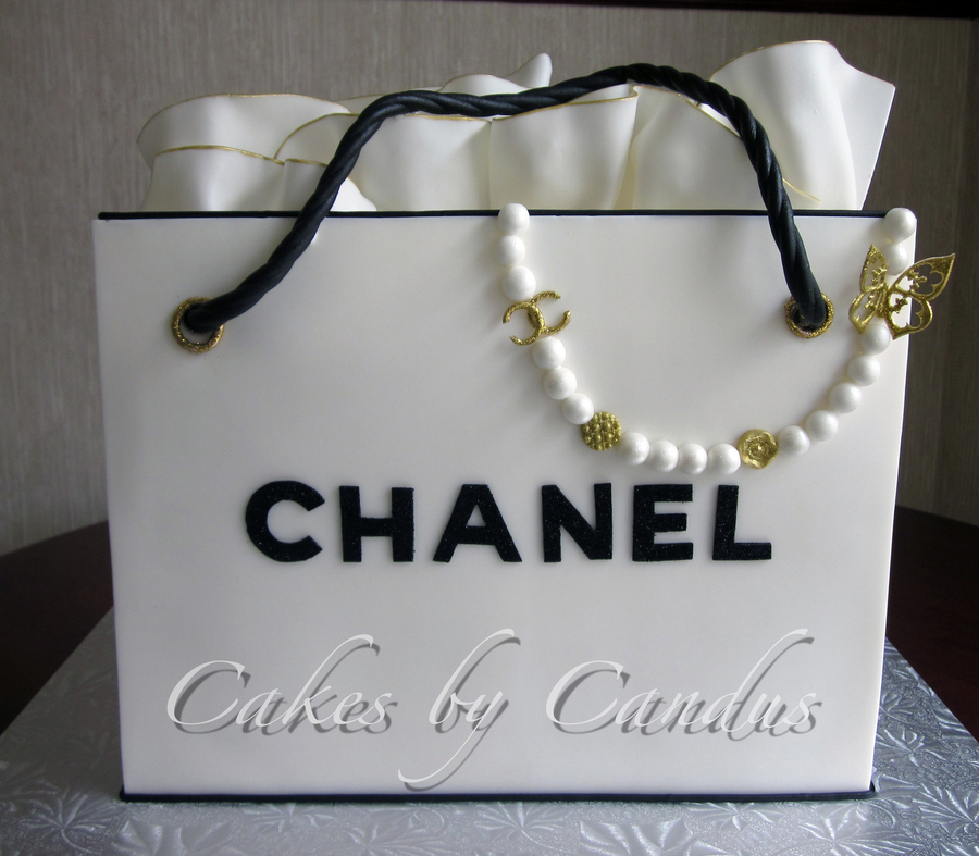 Chanel 1 on Cake Central