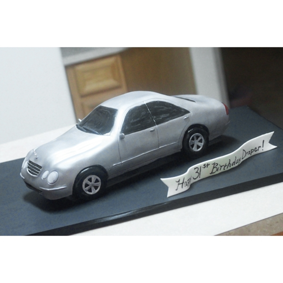 Mercedes Car Cake on Cake Central