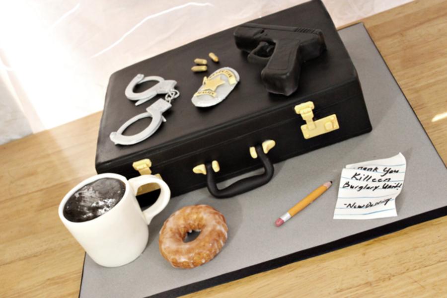 Detective Cake Ideas