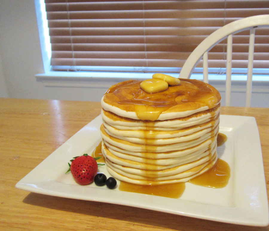Cake Like Pancake Recipe