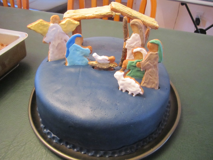Nativity Cake on Cake Central
