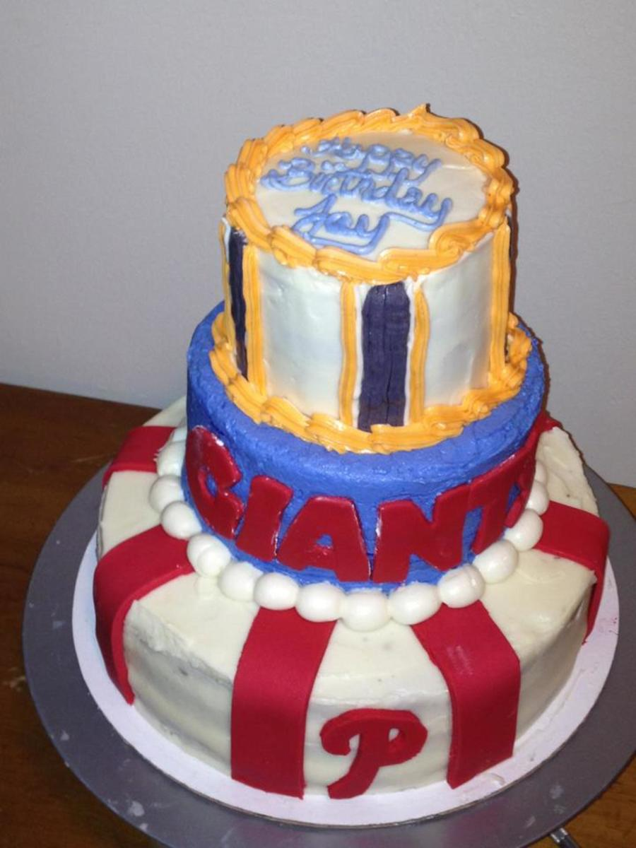 Flyers, Phillies, And Giants? on Cake Central