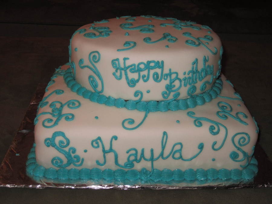 Happy Birthday Kaylajpg on Cake Central