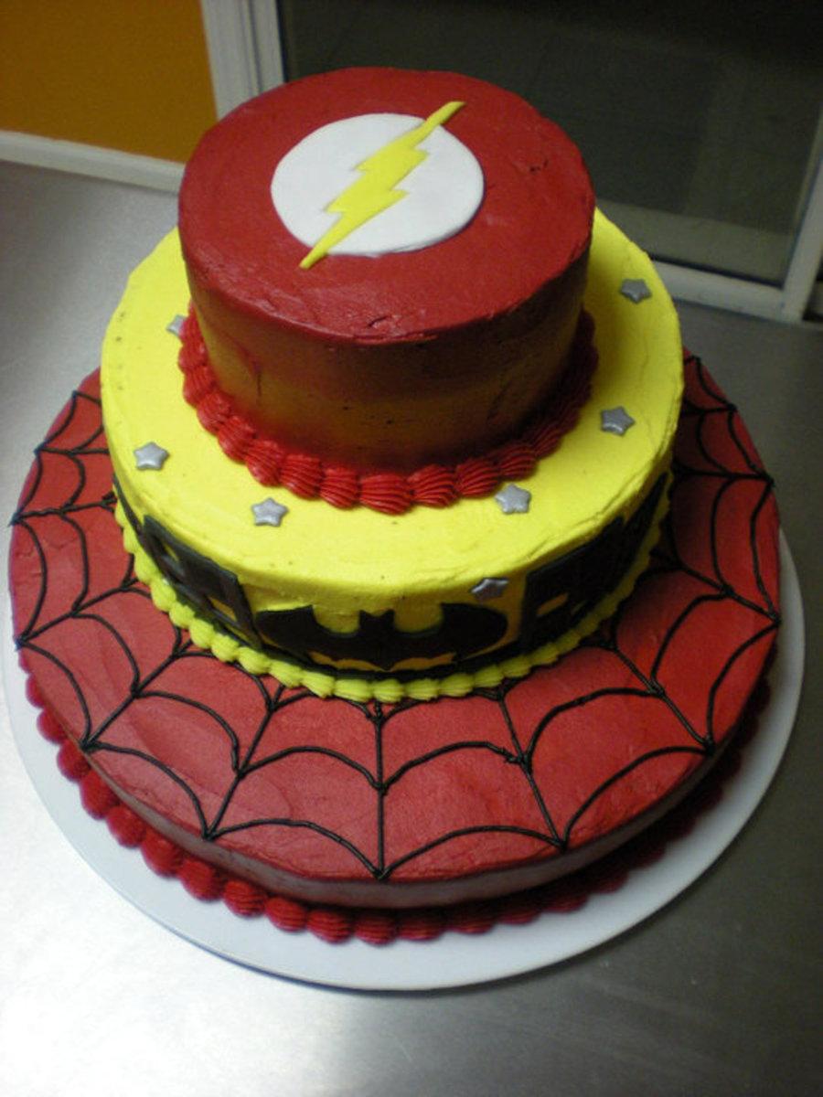 Superhero Themed Cake Cakecentral Com