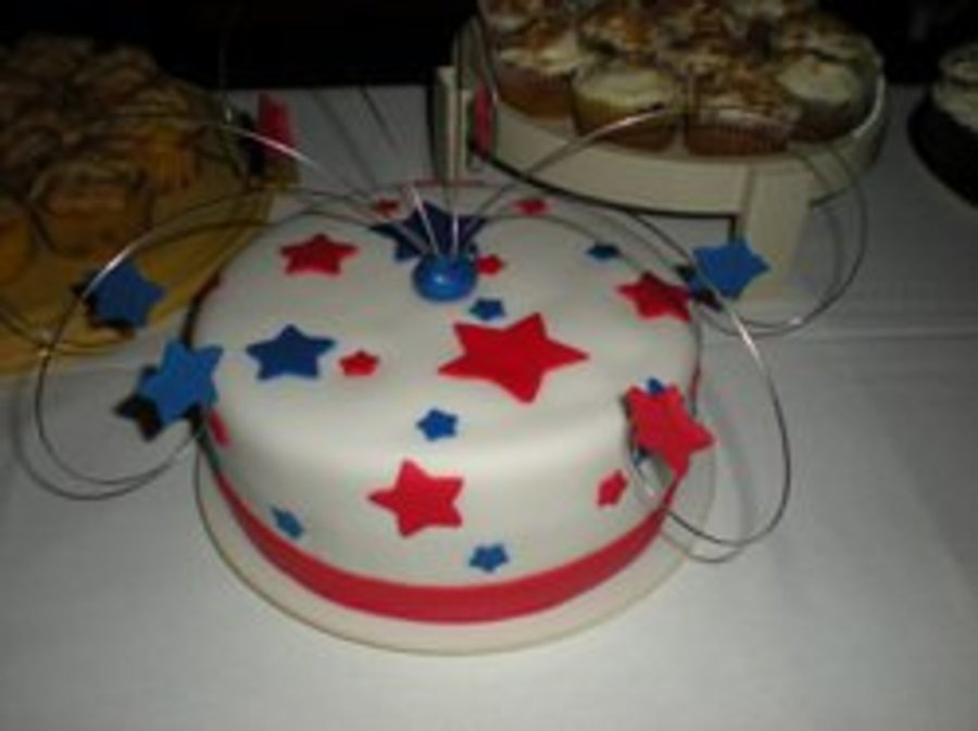 Shooting Stars on Cake Central