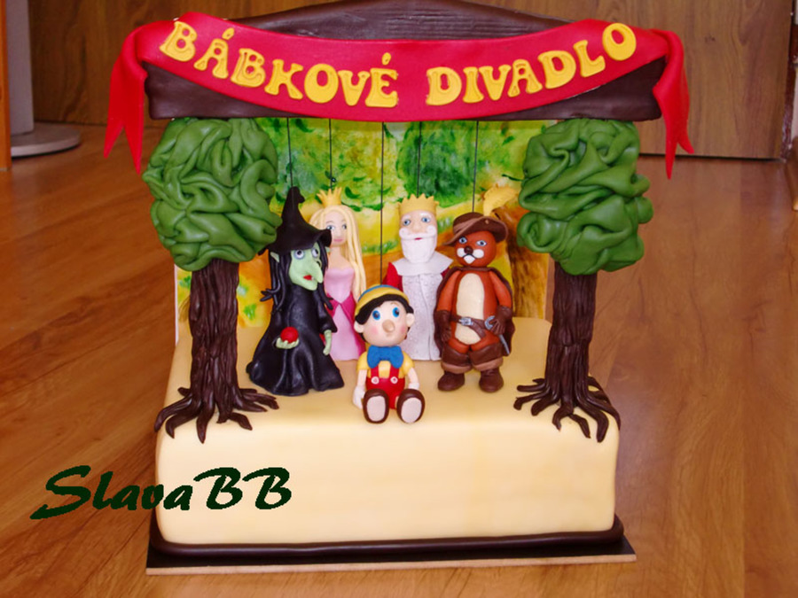 Marionette Theatre on Cake Central