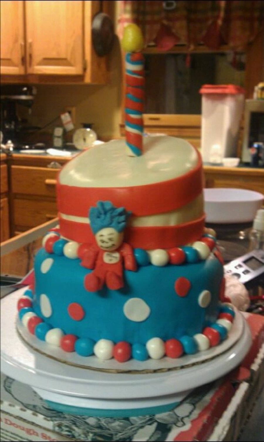 Thing 1 on Cake Central