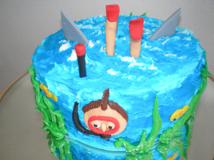 Diving Cake! on Cake Central