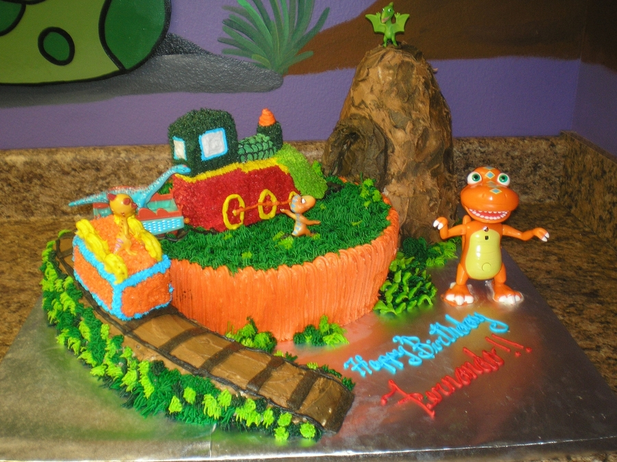 Dinosaur Train on Cake Central