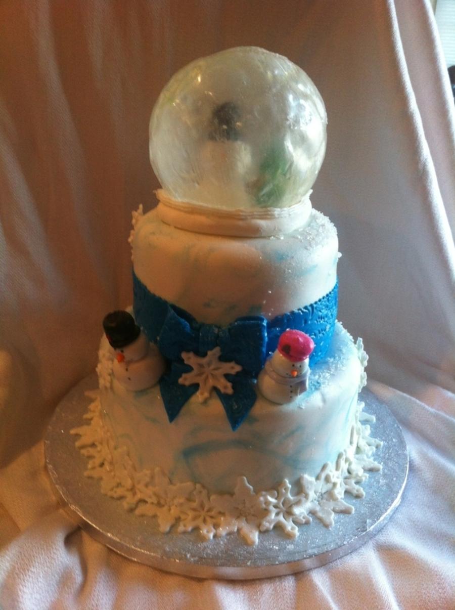 Snow Globe Cake Recipe
