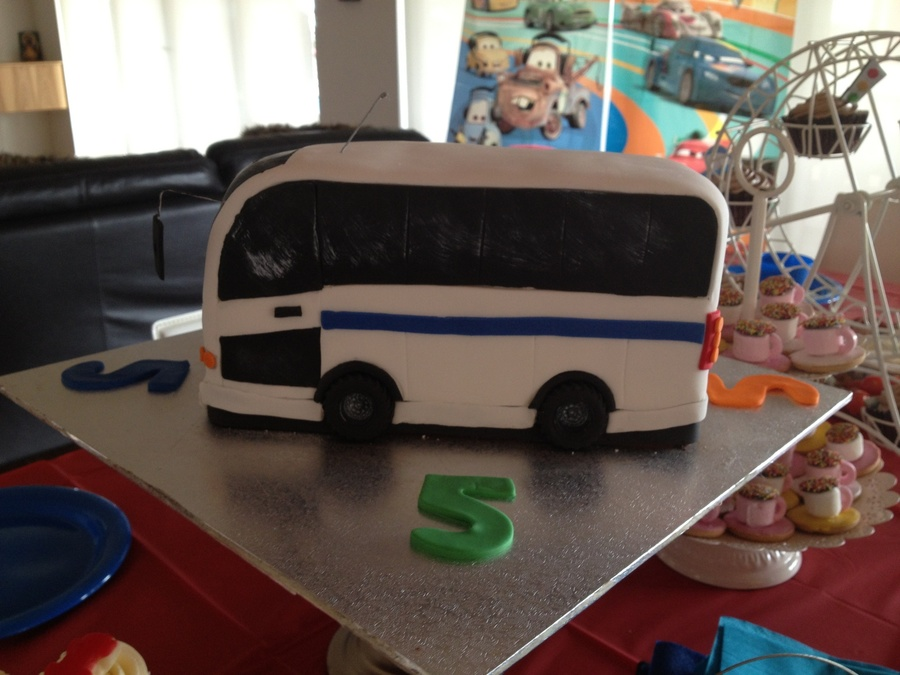This Is My Sons School Bus Or Rather A Cake Version Of It His Face Expression Was Priceless When He Saw It I Decided To Use My Camera T on Cake Central