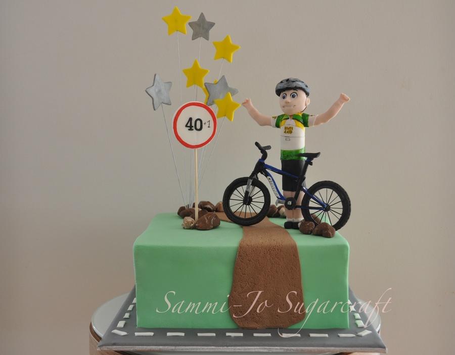 Cyclist Cake Cakecentral Com