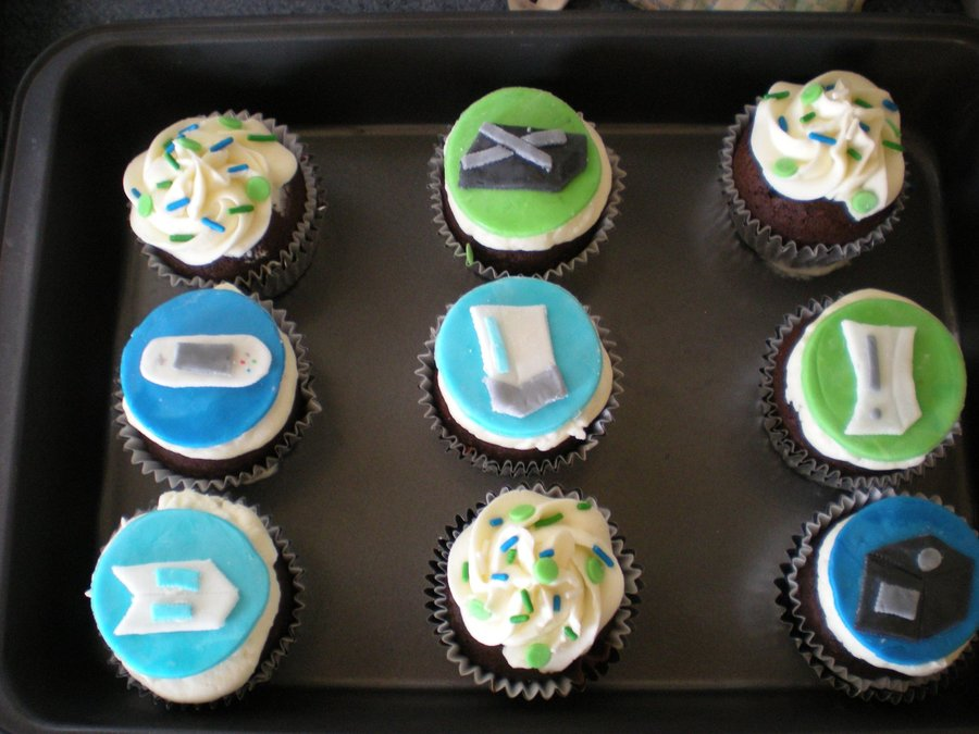Video Game Cupcakes on Cake Central