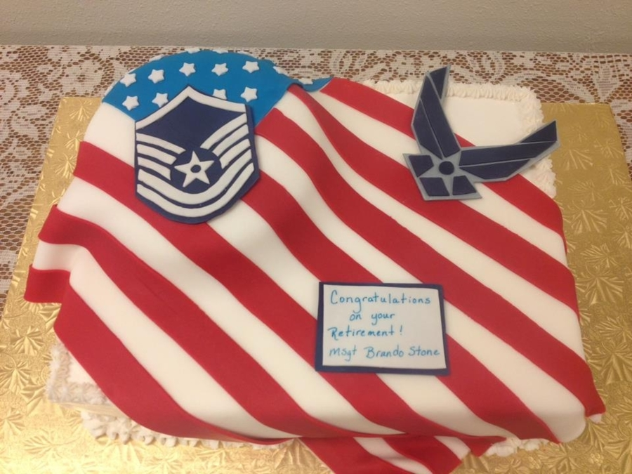 Air Force Cakes Retirement