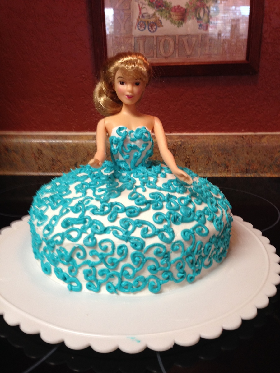 Princess Swirl Dress Made By 11 Year Old Cakecentral Com