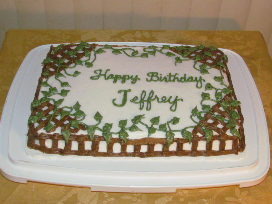 Happy Birthday Jeff Cake
