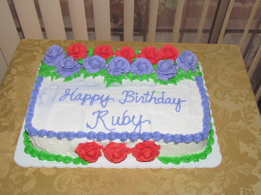 Happy Birthday Ruby Cakecentral Com