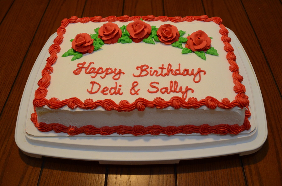 Happy Birthday Dedi And Sally Cakecentral