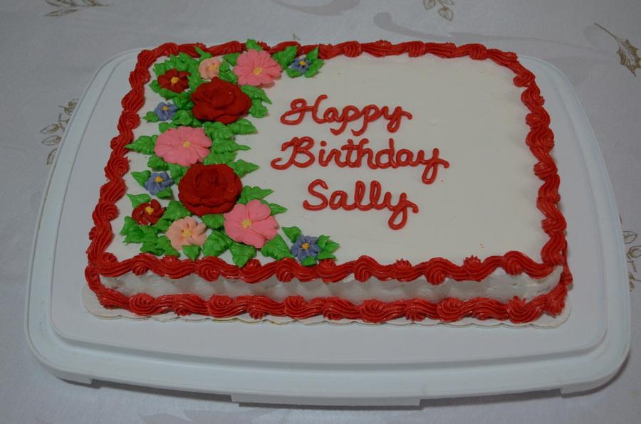 Happy Birthday Sally Cakecentral Com