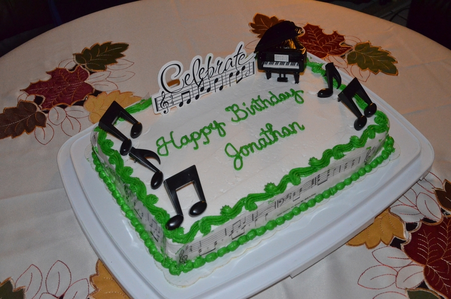Happy Birthday Jonathan Cakecentral Com
